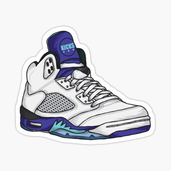 Shoes Grapes (Kicks) Sticker