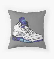 Shoes Grapes (Kicks) Throw Pillow