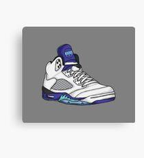 Shoes Grapes (Kicks) Canvas Print