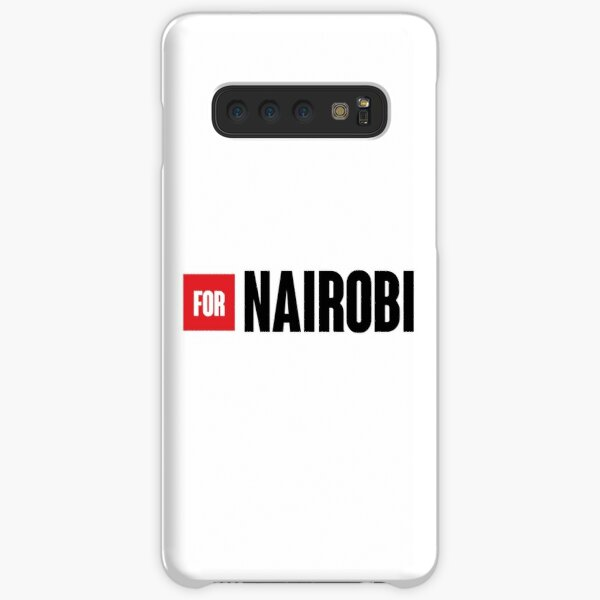BY NAIROBI - the paper house (money heist) Samsung Galaxy Snap Case