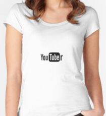 Youtuber Women's Fitted Scoop T-Shirt