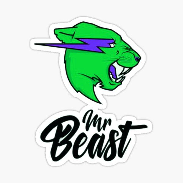 Mr. Beast custom  Sticker