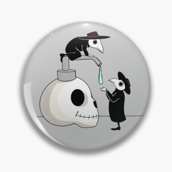 Wash your Hands! Plague doctors.  Pin