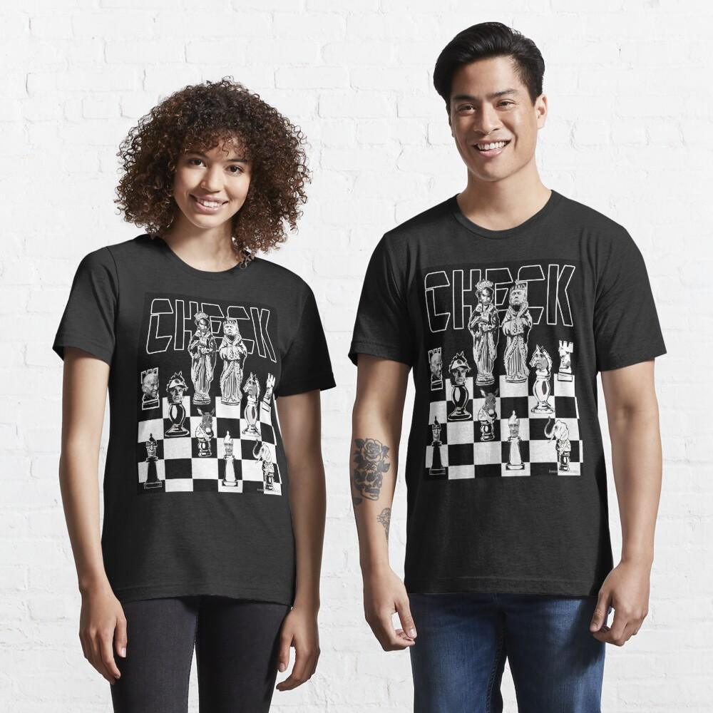 Check Essential T-Shirt