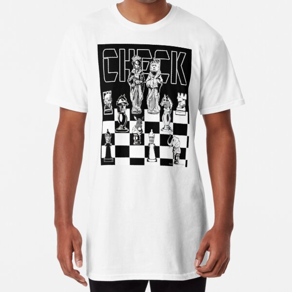 Check Long T-Shirt
