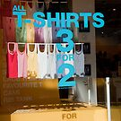 All T Shirts 3 For 2 by phil decocco