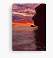 Dusk over Monkey Island Canvas Print