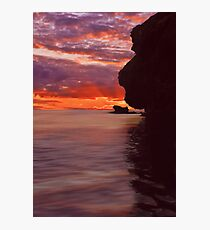 Dusk over Monkey Island Photographic Print