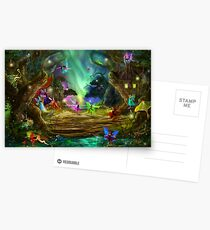 The Dancing Auroras Postkarten
