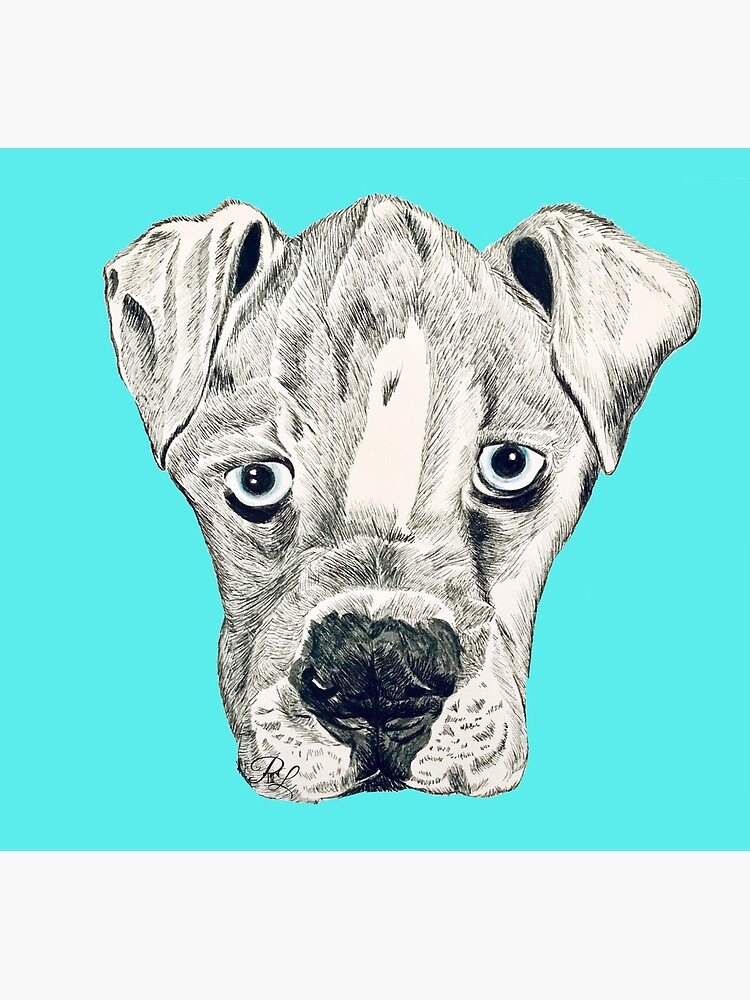 Boxer Puppy Dog by PTnL