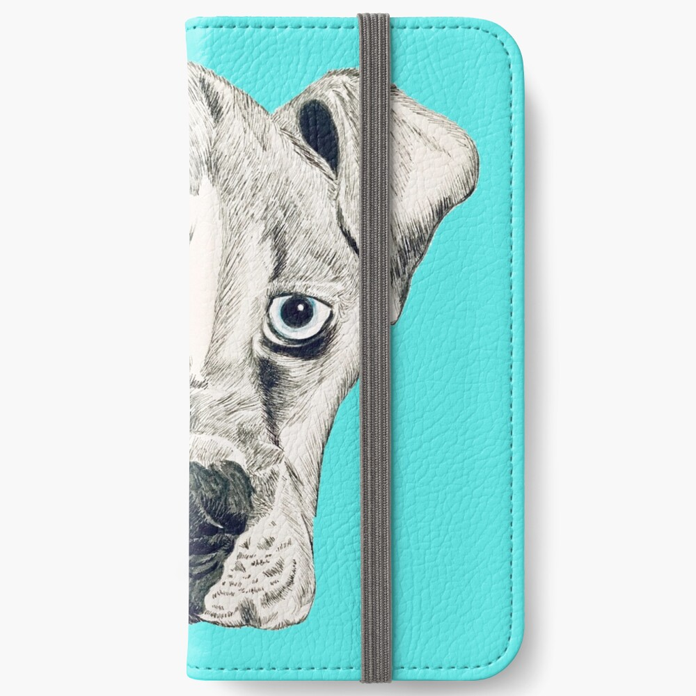 Boxer Puppy Dog iPhone Wallet