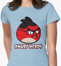 Angry Nerds Womens Fitted T-Shirt