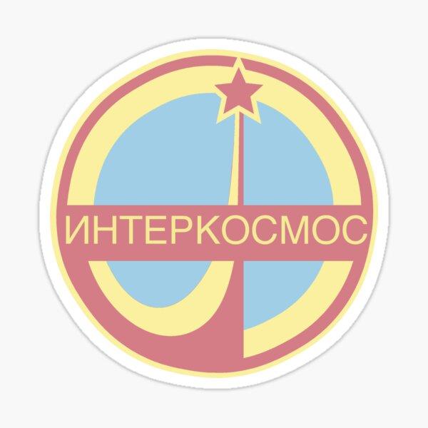 USSR Interkosmos - Pastel Sticker