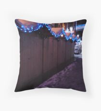Christmas Markets Throw Pillow