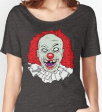 Zombie clown Women's Relaxed Fit T-Shirt