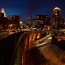 Stone Arch at night by Jeff Stubblefield