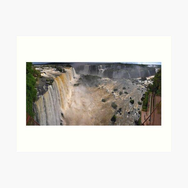 Iguazu Overview Art Print
