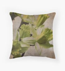 Daffodil (GRUNGE) Throw Pillow