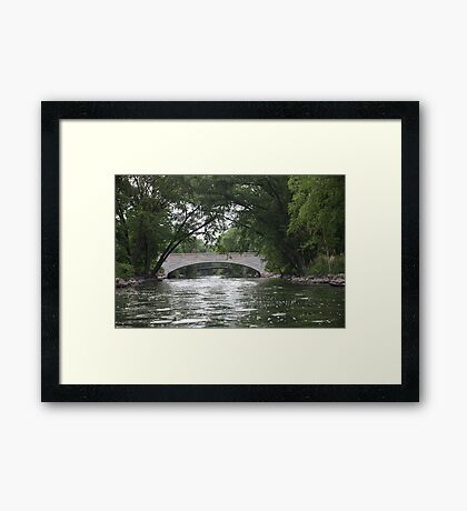 The Yahara River Framed Print