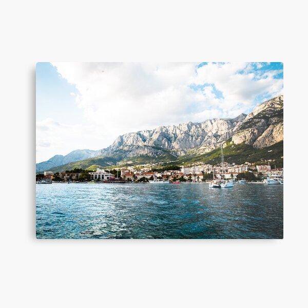 Makarska, Croatia Metal Print