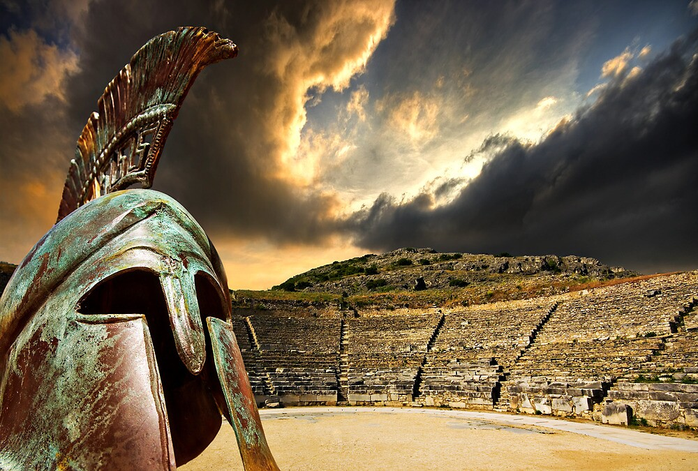 homage to ancient greece by meirionmatthias
