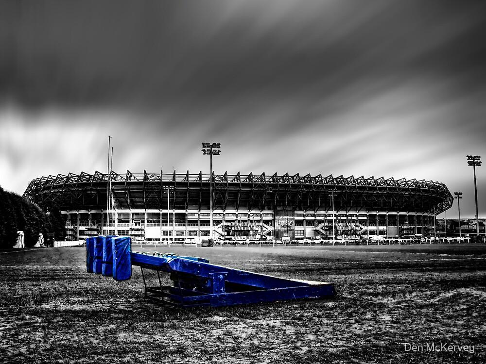Murrayfield Stadium, Edinburgh, Scotland Selective Colouring by Den McKervey