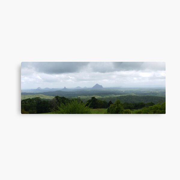Glass House Mountains QLD Panorama Canvas Print
