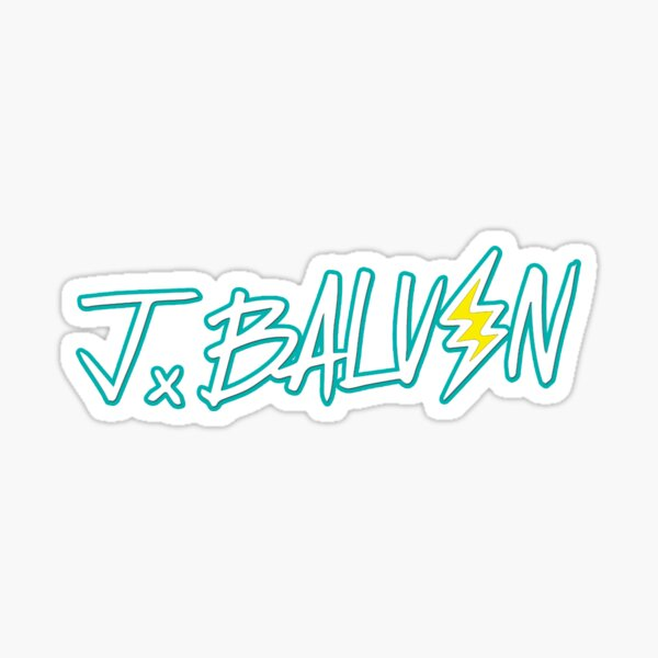 JBalvin (Jeismary Rivera) Pegatina