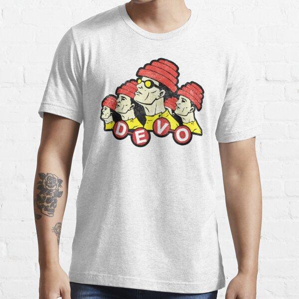 DEVO (white distressed design) Essential T-Shirt