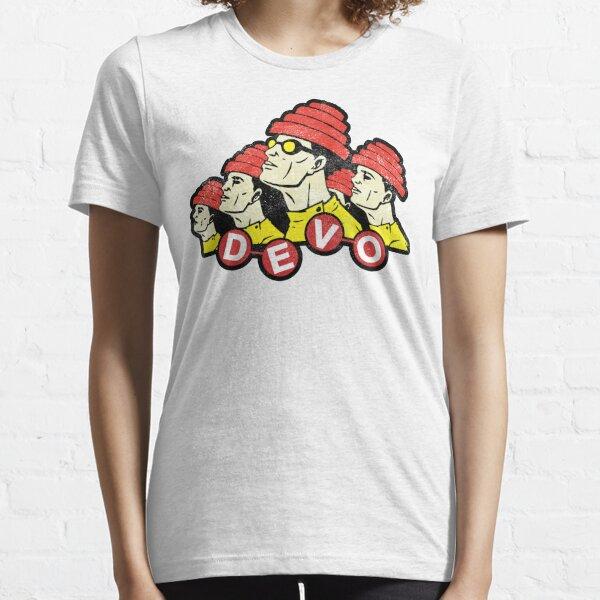 DEVO (design blanc vieilli) T-shirt essentiel