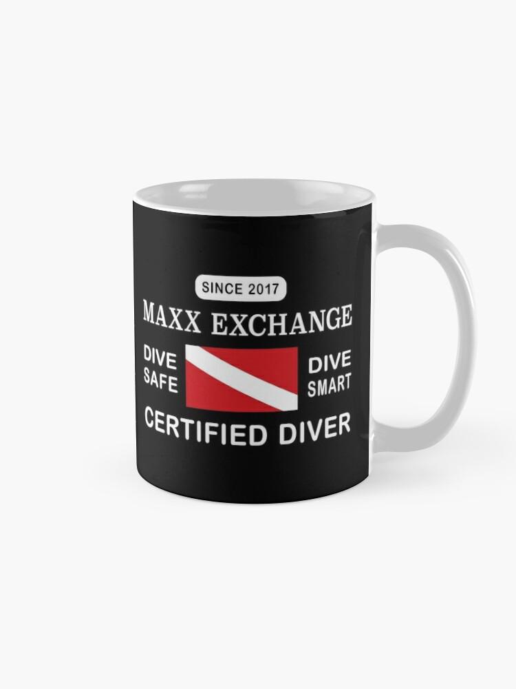 Alternate view of Maxx Exchange Certified Diver Wetsuit Snorkel. Mug