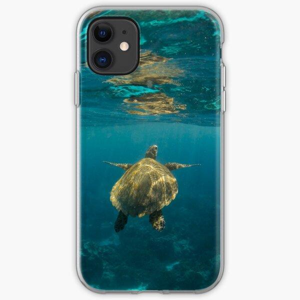 Turtle rising iPhone Soft Case