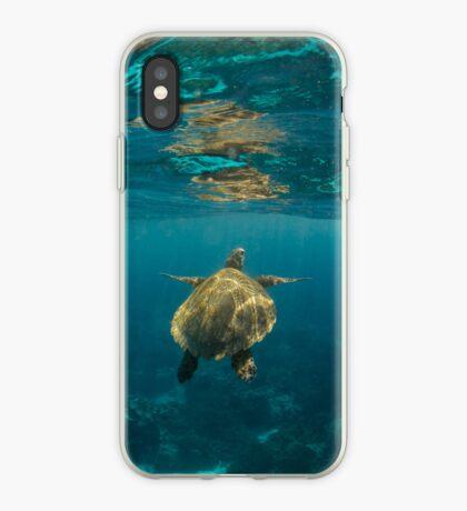 Turtle rising iPhone Case