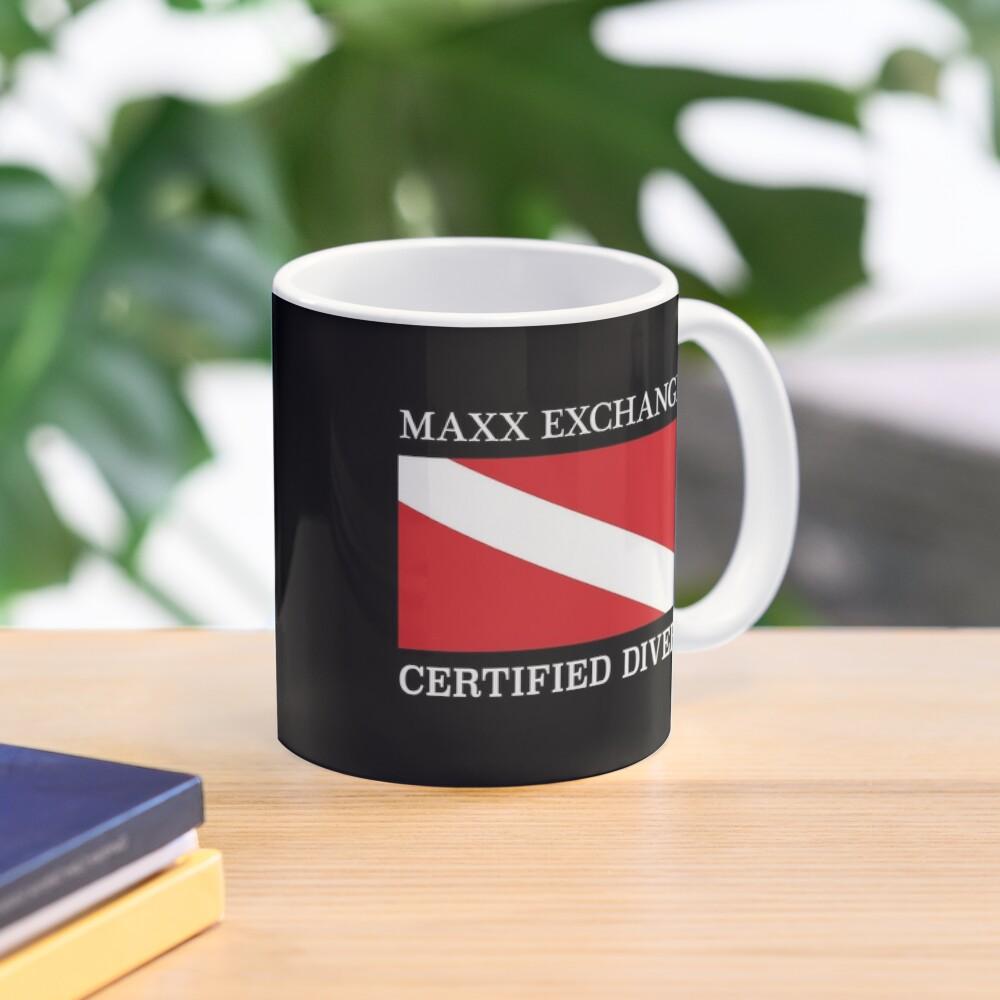 Maxx Exchange Certified Diver Frogman Snorkel. Mug