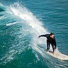 Manhattan Beach Surfer - Los Angeles - USA by TonyCrehan