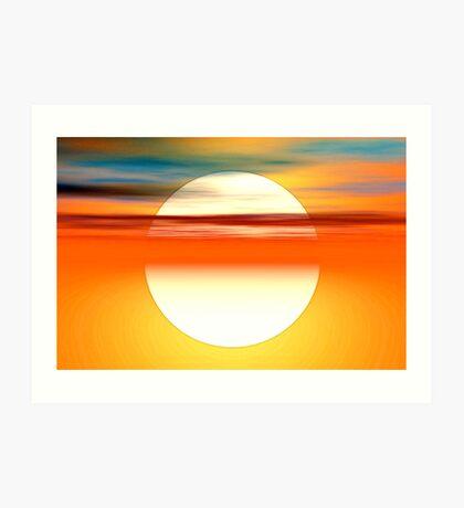 Nada como el sol Art Print