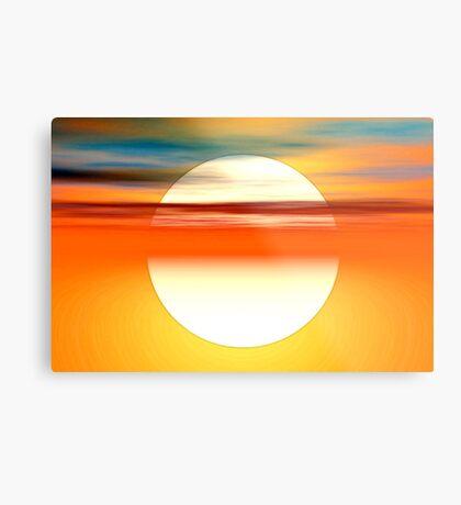Nada como el sol Metal Print