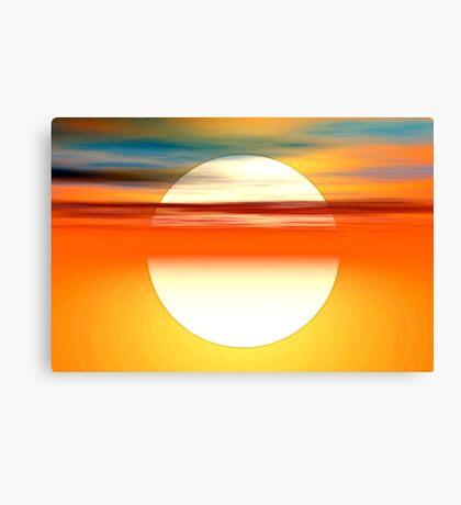 Nada como el sol Canvas Print
