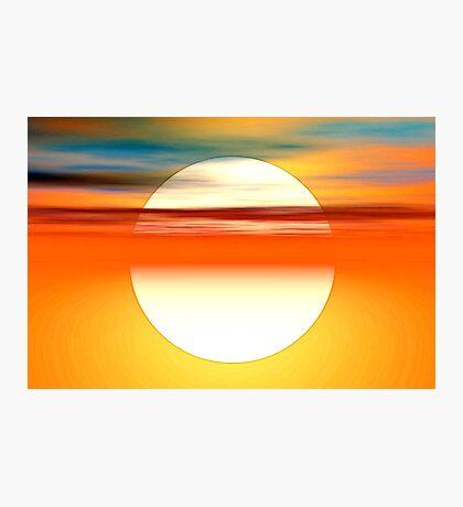 Nada como el sol Photographic Print