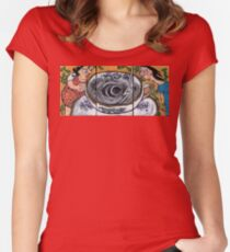 Storm in a Teacup Fitted Scoop T-Shirt