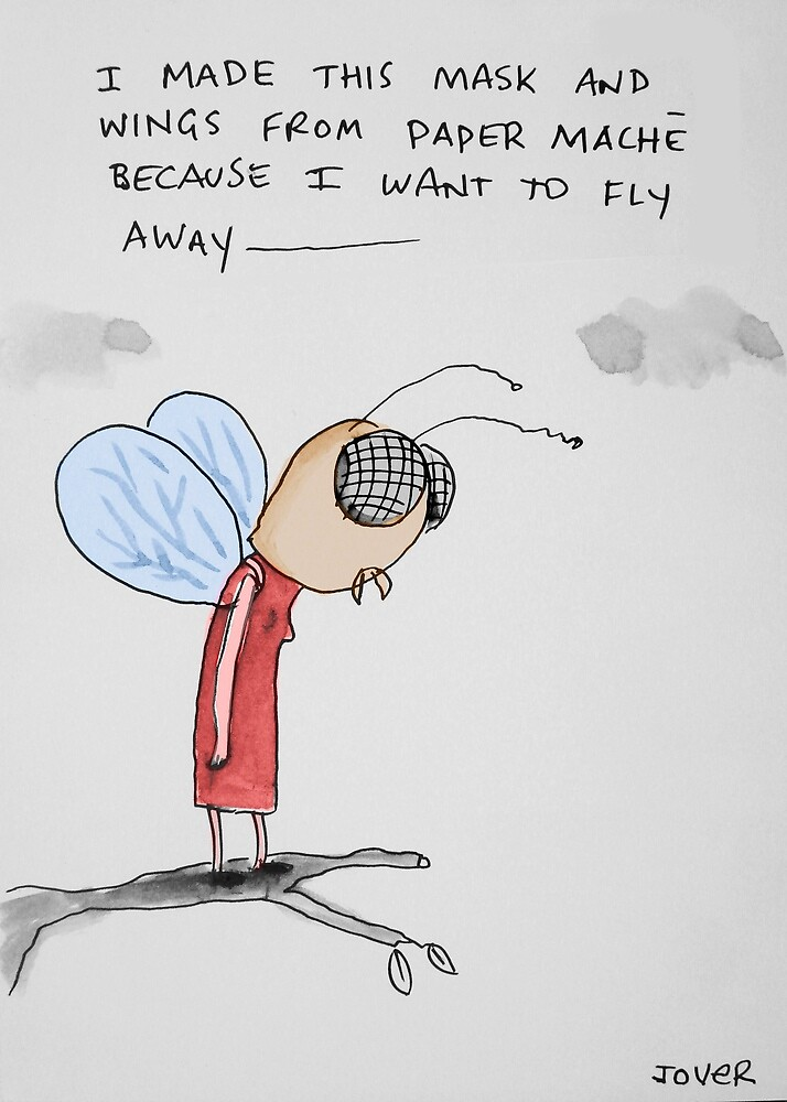 me the bee by Loui  Jover