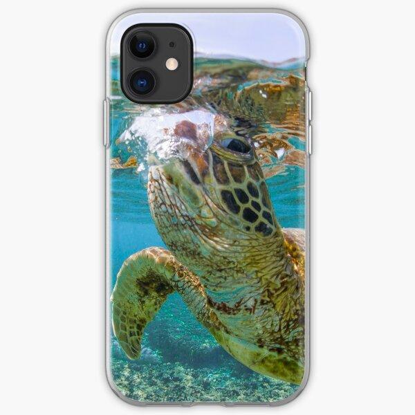 Turtle gaze iPhone Soft Case