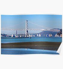 Sailing San Francisco Bay Poster