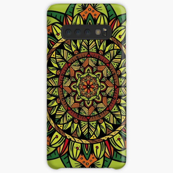 Tropical Jungle Mandala Samsung Galaxy Snap Case