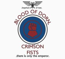 Crimson Fists Sports Badge Tee