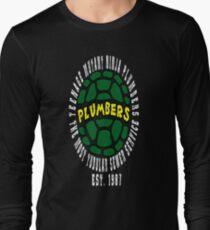 Teenage Mutant Ninja Plumbers Long Sleeve T-Shirt