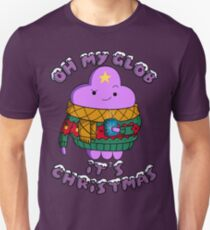 Lumpy Space Princess - Oh My Glob It's Christmas T-Shirt