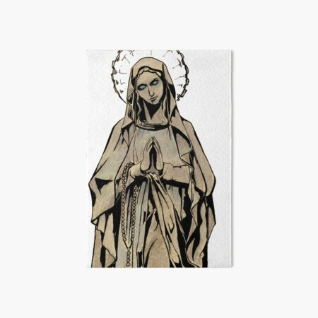 Mary Mother of God Art Board Print