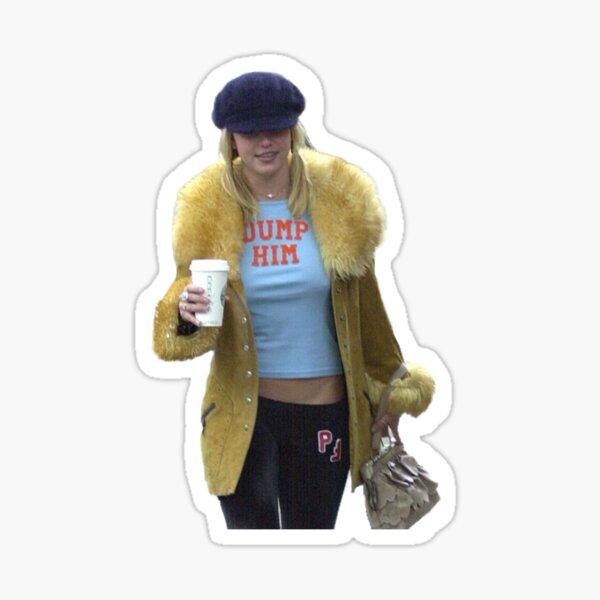 Britney Spears DUMP HIM Sticker