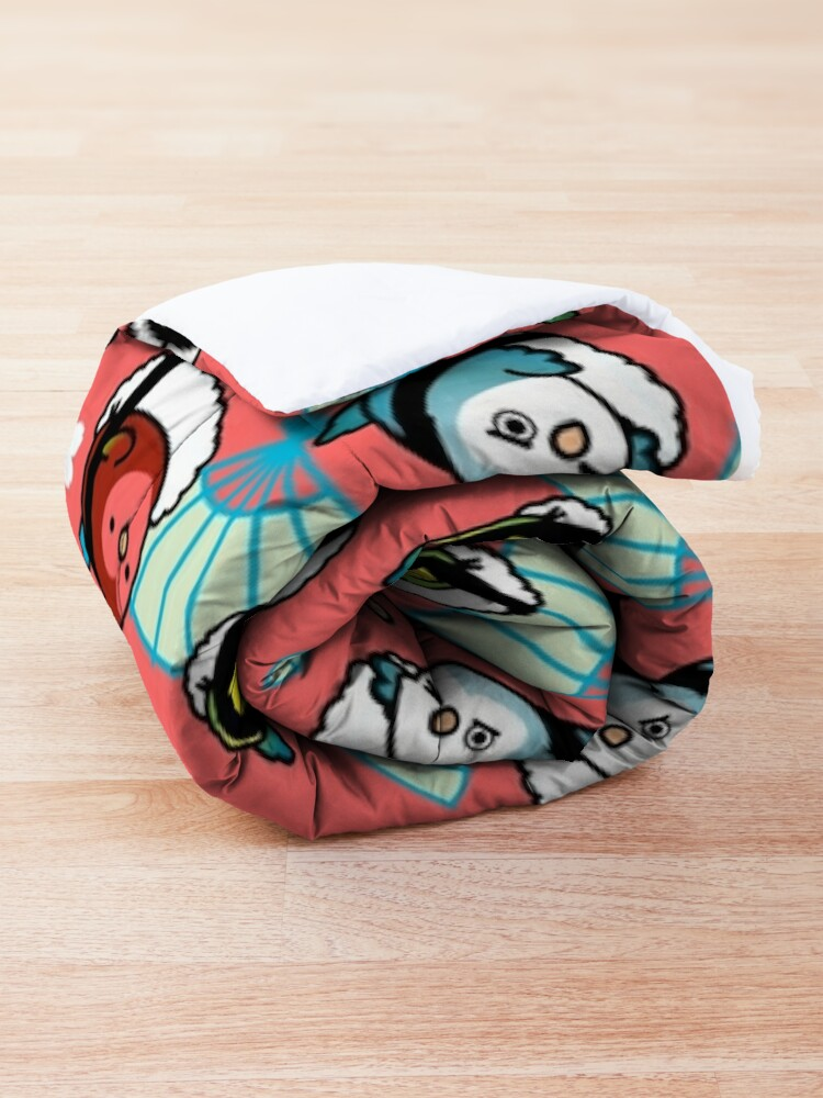 Alternate view of Sushi Time with Cody the Lovebird & Friends Comforter
